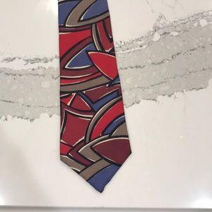NWOT Viaggio 100% silk tie